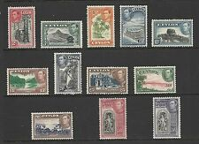 Single George VI (1936-1952) Ceylon Stamps