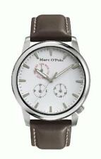 Marc O'Polo Men's Watch 4210004 Analogue Leather Brown