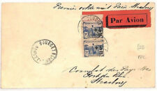 ZZ124 1930 FRANCE AVIATION *Bourget Airport* FFC First Flight Cover Strasbourg