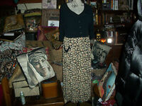 NATHALIE SEAVER Vintage  Enchanting Dress Size L