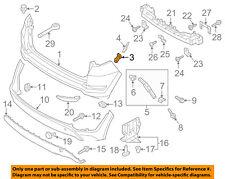 HYUNDAI OEM 16-18 Tucson Rear Bumper-Side Retainer Bracket Left 86677D3000