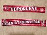 Ultras seidenschal NORDKURVE / GEGEN STADIONVERBOTE - 1. FC Nürnberg