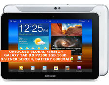 SAMSUNG GALAXY TAB 8.9 P7300 16gb Dual-Core 8.9 Inch Wifi Gps Android Tablet 3g