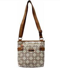 Rosetti Rachel Mini Crossbody Handbag in Bone Beige/Brown