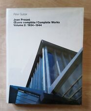 Jean PROUVE Complete Works 2 Industrial Design Architecture Furniture 1930s 40s