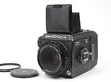 【Exc++++】Zenza Bronica EC w/ Nikon Nikkor-P・C 75mm f/2.8 From Japan #8109