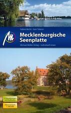 REISEFÜHRER MECKLENBURGISCHE SEENPLATTE Michael Müller Verlag, wie neu ungelesen