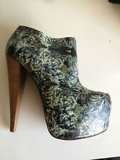 Stiletto Party Floral Boots for Women