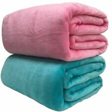 Winter Blankets Comfortable Fabric Soft Warm Sheet For Travel Solid Blanket Thin