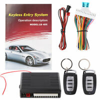 12V Car Auto Remote Central Door Locking Vehicle Keyless Entry System Kit