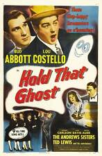 BUD ABBOTT LOU COSTELLO Hold That Ghost MOVIE POSTER 27x40 B 1941 Andrew Sisters