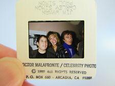 More details for original press photo slide negative - bill wyman, carly simon & paul simon