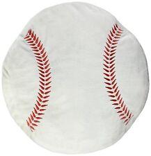 16 inch baseball PLUSH PILLOW NOVELTY BALL couch throw