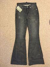 Pratt's Buel Jeans Flare Leg in Road Demon Sz 26 (26x33)
