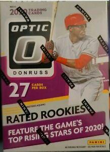 "2020 Donruss OPTIC Baseball Blaster Box factory sealed. Condition is ""Brand New"""