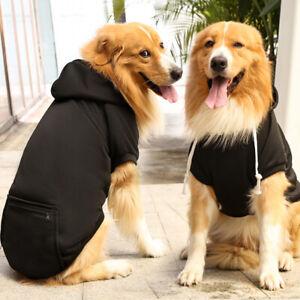 Pet Dog Lab Clothing T-Shirt Puppy Hoodie Coat Clothes XS S M L XL XXL 3XL 4XL