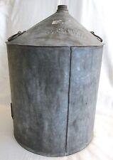 New listing Antique C & N W. RY. Large Kerosene Oil Can Chicago & North Western Railway