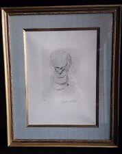 JACQUESVILLON (1875-1953) RARE EAU FORTE ÉPREUVE D'ARTISTE PIERRE de TARTAS