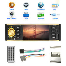 Single 1Din Autoradio Car Video Player 4'' HD Touch Screen MP5 Player FM AUX USB