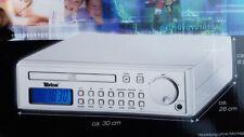Unterbauradio Küchenradio CD Player FM AM CD-Küchenunterbauradio Silber
