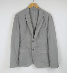 TRUSSARDI JEANS Men's (EU) 54 or ~X LARGE Grey Stretchy Casual Blazer 40674-GS