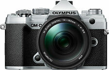 Olympus OM-D E-M5 Mark III Kit w/ 14-150mm Lens- Silver