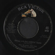HAL BLAINE: Surfin' Band / The Drummer Plays For Me 45 Oldies