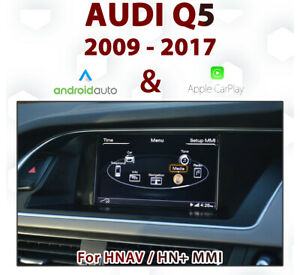 [Touch] Audi Q5 3G MMI - 2009-17 Touch overlay Apple CarPlay & Android Auto