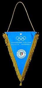 Munich 1972 Olympics Italian Handball Federation Italy NOC  Olympic Team Pennant