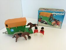 Playmobil 3505 - Horse trailor with Jockeys (Klicky, OVP) II