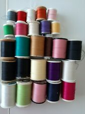26 Lot of Sewing Thread Assortment Coil Assorted Colors