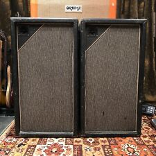 Vintage 1967 Marshall Pinstripe Pair 3x12 PA Guitar Cabinets 20w Celestion G12M