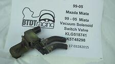 MAZDA EGR Vacuum Switch Solenoid Valve K5T49096 BP4Y (mounting tab broke) #2