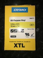 1868771 DYMO XTL All-Purpose - Permanent adhesive indoor/outdoor vinyl tape - bl