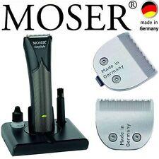 Moser Easy Style Beard Hair Trimmer 0,1mm - 25mm + MEDICAL Fine Cutting Head Set