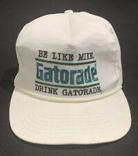 Vintage Be Like Mike Gatorade Snapback Hat FinZi MJ Jordan Last Dance RARE Piece