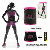 Waist Trimmer Exercise Belt Sweet Sweat Men Women Workout Enhancer Weight Loss