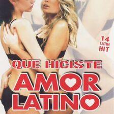 Various-Amor Latino-QUE HICISTE (CD)