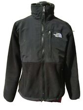 THE NORTH FACE Woman's Black Fleece Coat Jacket - Zip Front -  Poly - Small S