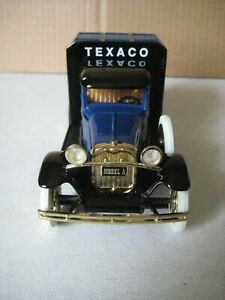 TEXACO HAVOLINE MOTOR OIL FORD MODEL A PICKUP Coin Bank 1:25 Scale DieCast