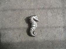 Creature Mexico Mexican pin brooch vintage 1950 Sea Horse sterling Ocean