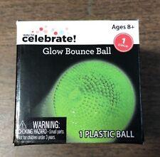CELEBRATE NEW NIB Glow Bounce Ball Ages 8+