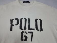 POLO 67 RALPH LAUREN SPELL OUT SWEATSHIRT SHIRT VTG 90s Pull Over