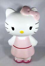 Hello Kitty Ceramic Money Coin Piggy Bank Japanese Anime Pink Sanrio 2012