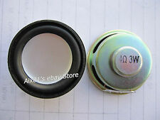 """2pcs 1.5"""" inch 4Ohm 4Ω 3W Full Range Audio Speaker Stereo Woofer Loudspeaker PU"""
