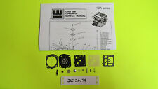 Jonsered Chainsaw 2051 2054 Carburetor Walbro HDA119A Carb Kit