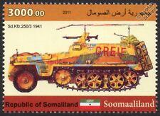 Demag Sd.kfz,250 / 3 Greif Rommel de la Segunda Guerra Mundial Half-track automóvil blindado / Tanque Sello
