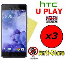 3x Hq Matte Anti Glare Screen Protector Cover Films Guard For Htc U Play