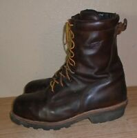 Red Wing Men's Steel Toe Logger Work Boots 4420 size 13 D