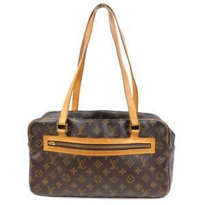 LOUIS VUITTON Cite GM Shoulder Bag Monogram Brown M51181